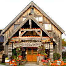 Our farmstand in Fall