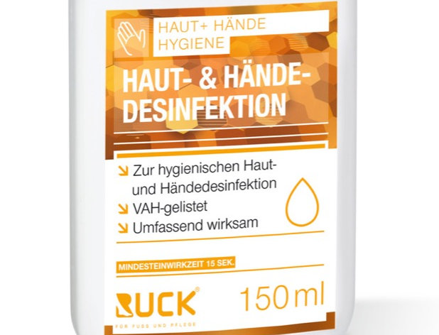 RUCK® skin and hand disinfection