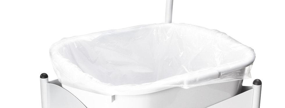 Transparent bag for foot tub