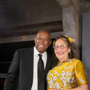 Mayor Sylvester Turner, Marilyn Oshman.j