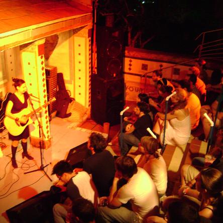 Nina Nastasia performance at Orange Show