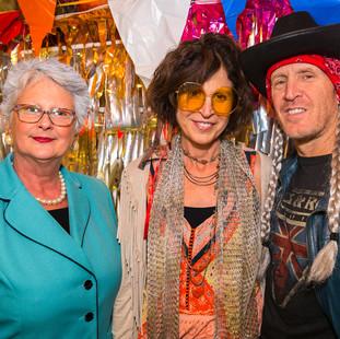 Connie Wilhelm, Ginnie Hart, Robert Navo