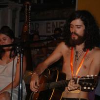 Devendra Banhart performane at Orange Sh