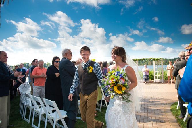 PHOTO: DJ and Joe's wedding