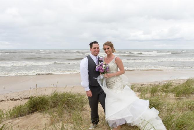 PHOTO: Julie and Steve's wedding