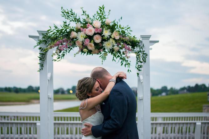 PHOTO: Brynn and Nic's wedding