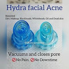 Hydra facial Acne_Certified treatment ce