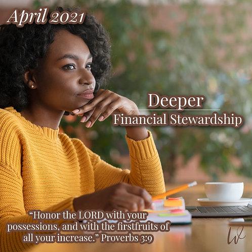 Deeper v.4: Financial Stewardship