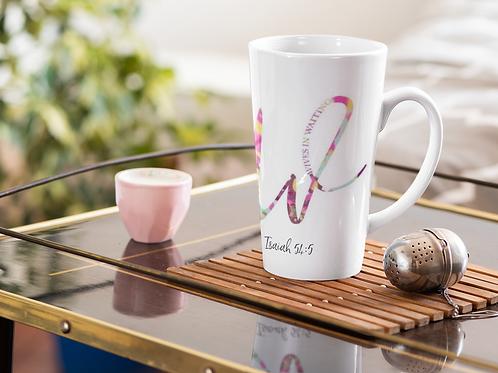 White Ceramic Logo Mug