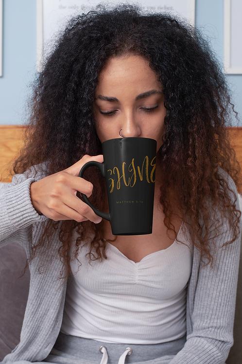 Black Ceramic SHINE Mug