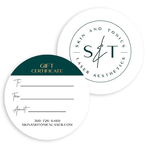 S & T Gift Certificate