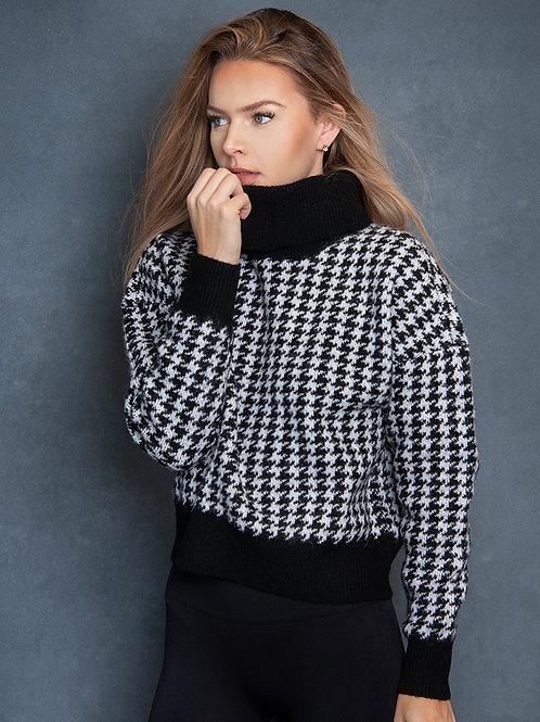 Black White Sweater