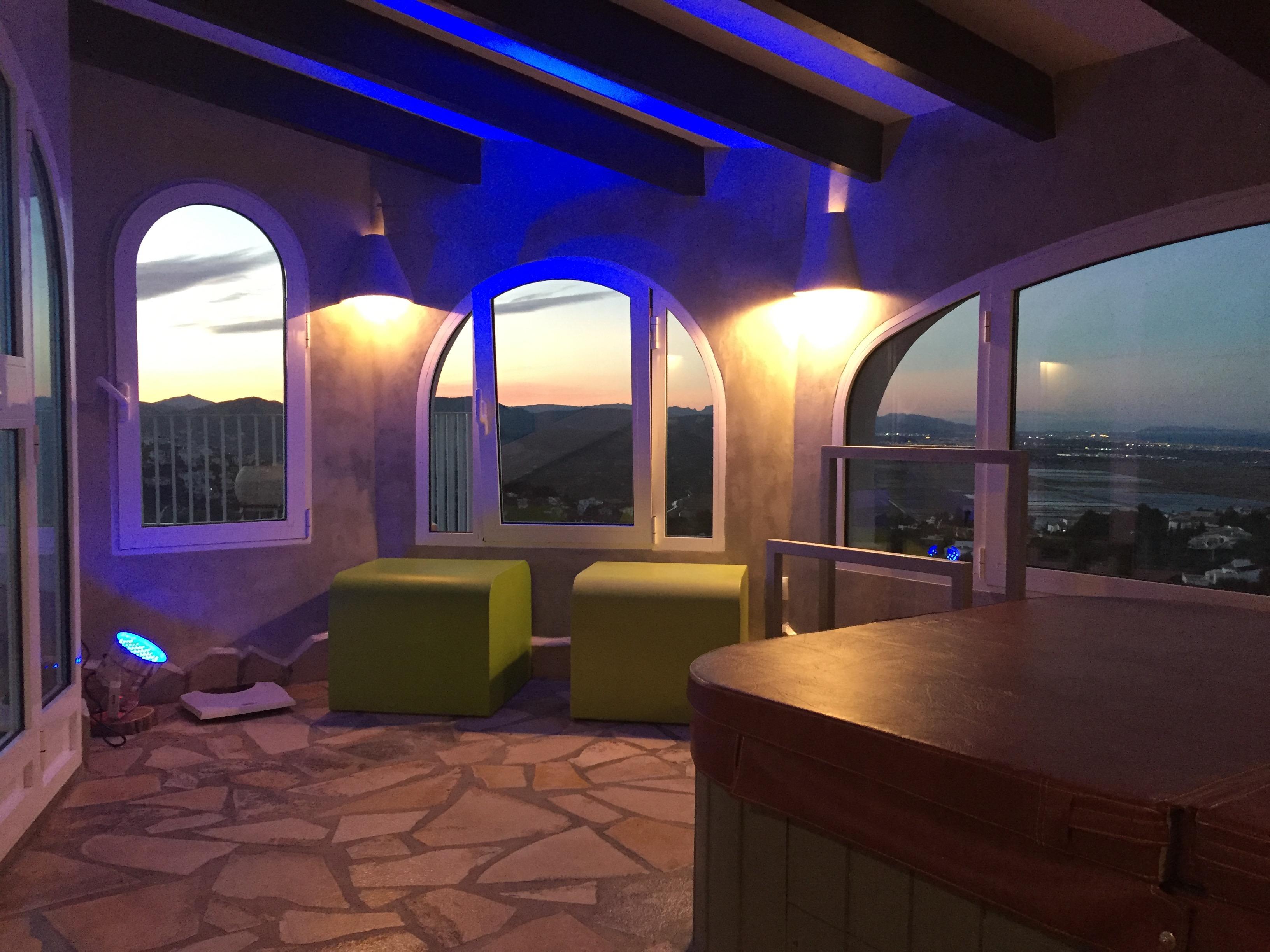 Das Badehaus der Villa Finca