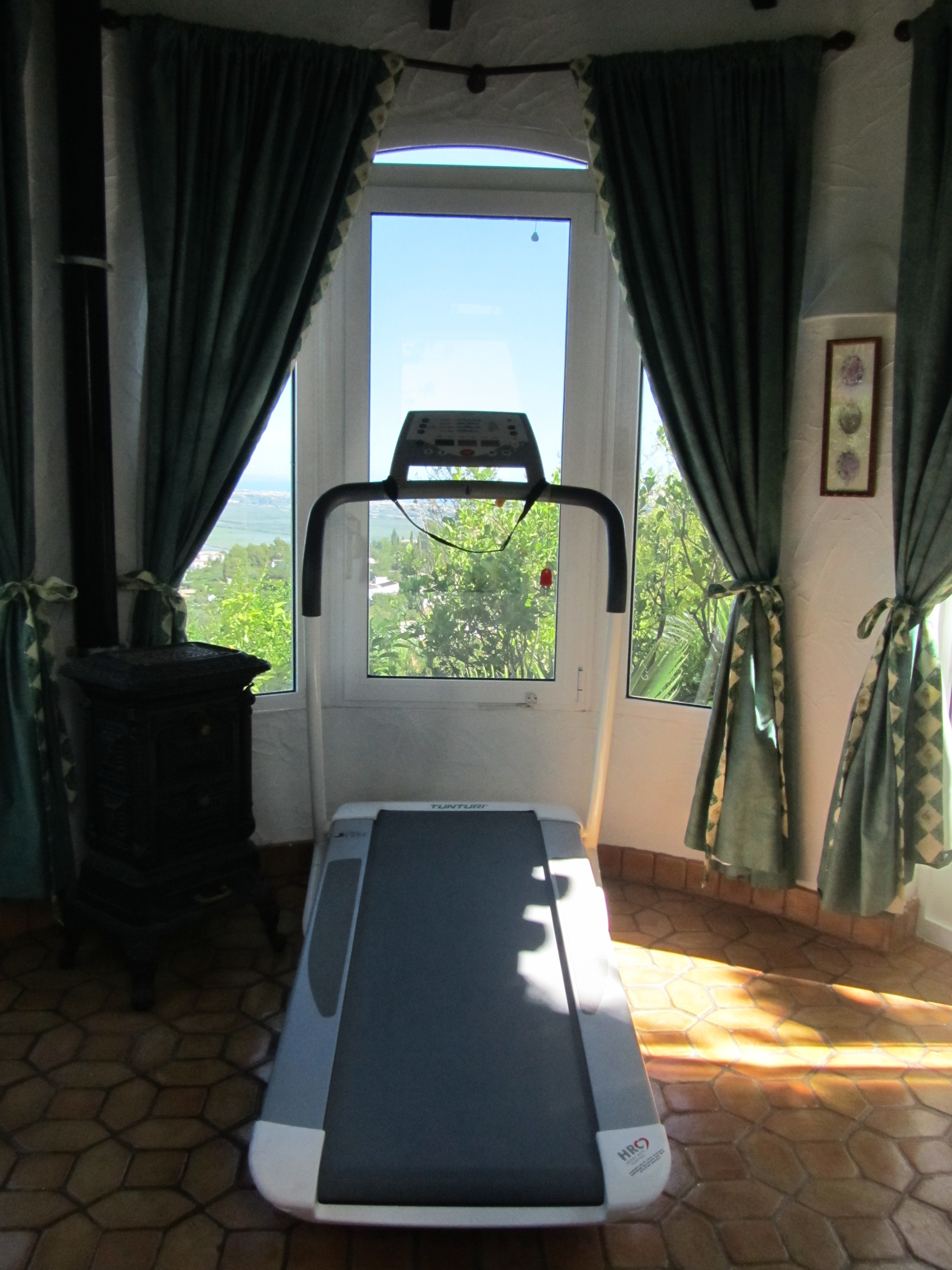 Fitness pavilion