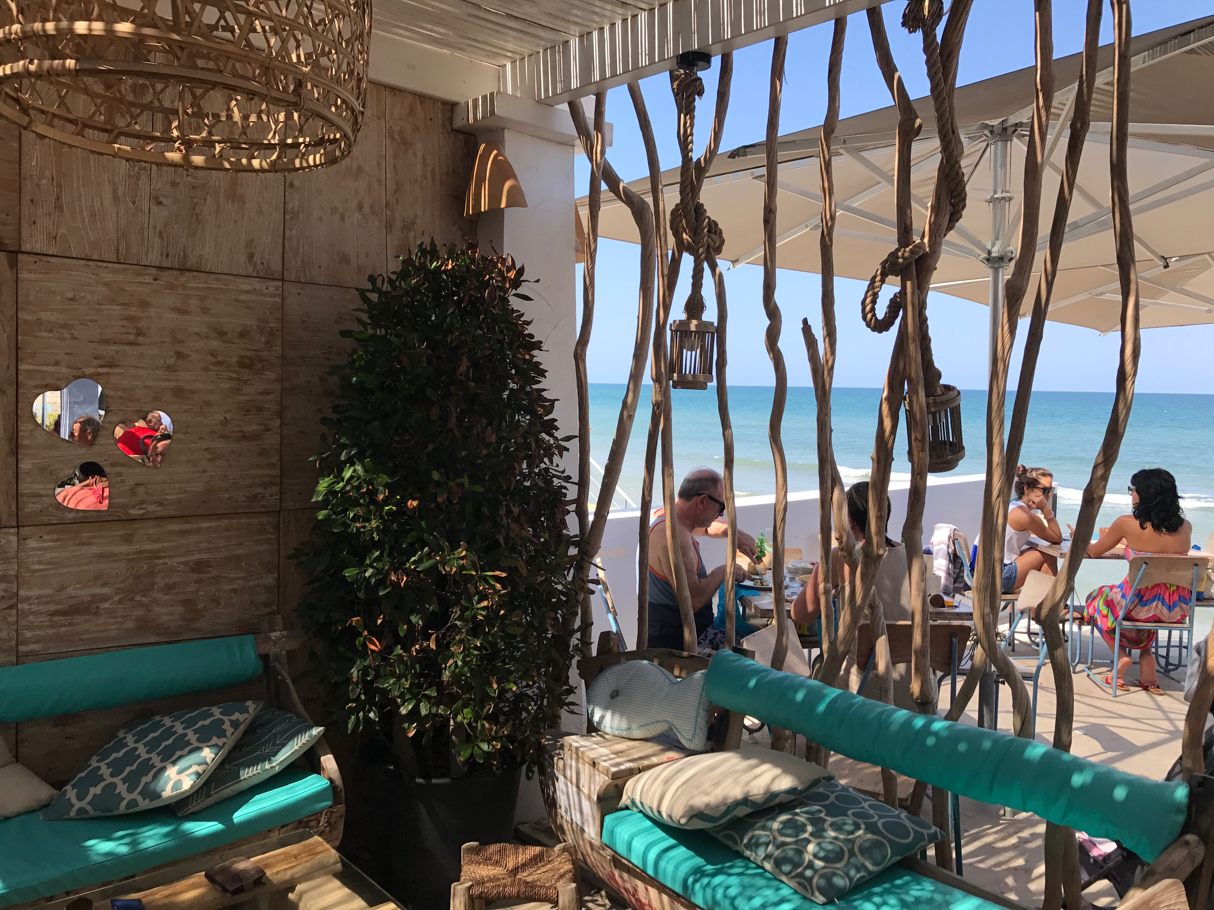 Denia - Los Baños sunshine bar