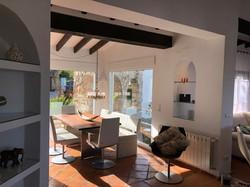 Esszimmer der Villa Finca