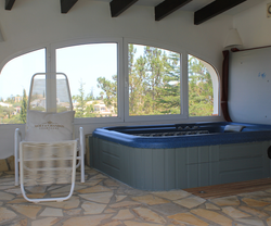 Badehaus am Pool