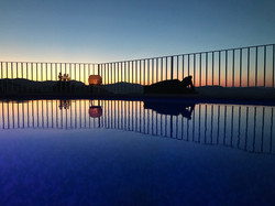 Abendstimmung auf der Villa Finca
