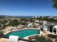 Pool Bathhouse Villa Finca Costa Blanca