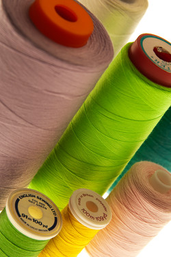 Photography of Cotton Reels