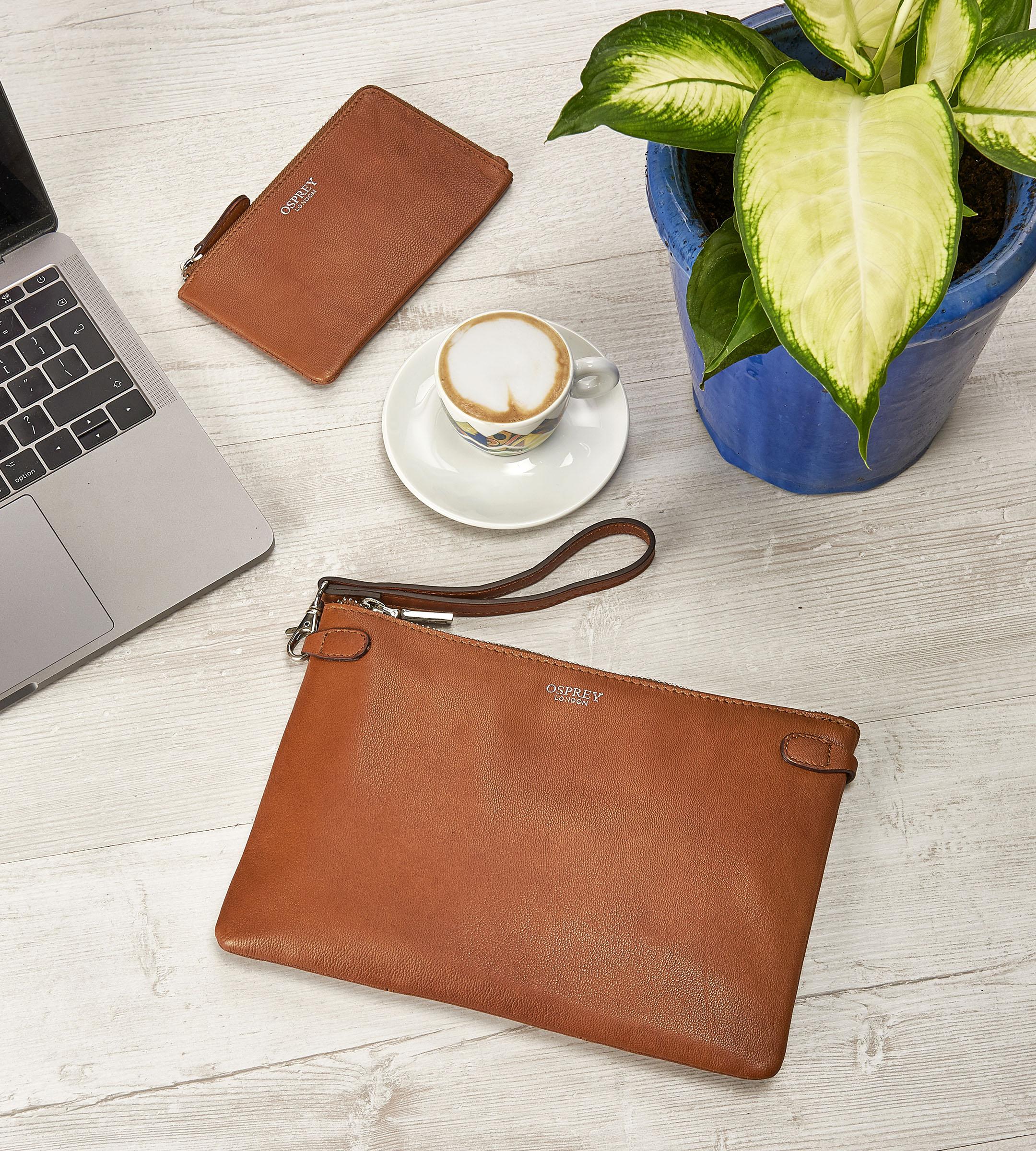 Bag & Purse Flat Lay