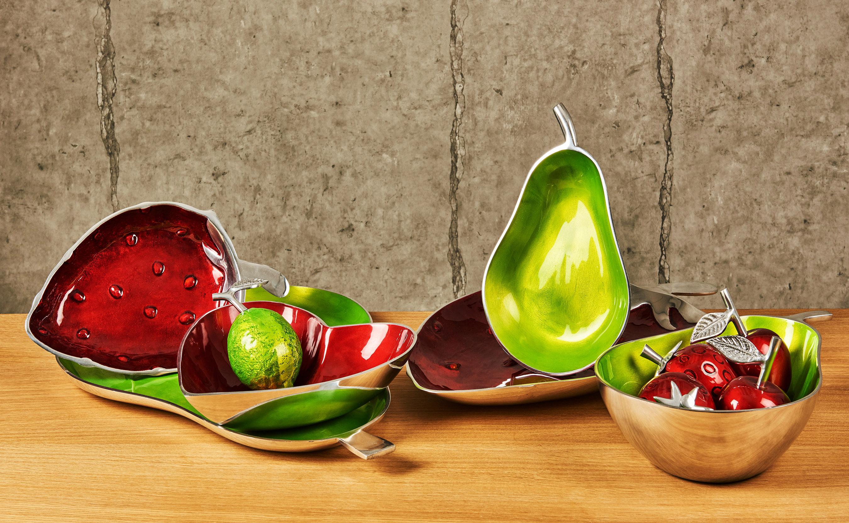 Colourful Enamelled Bowls