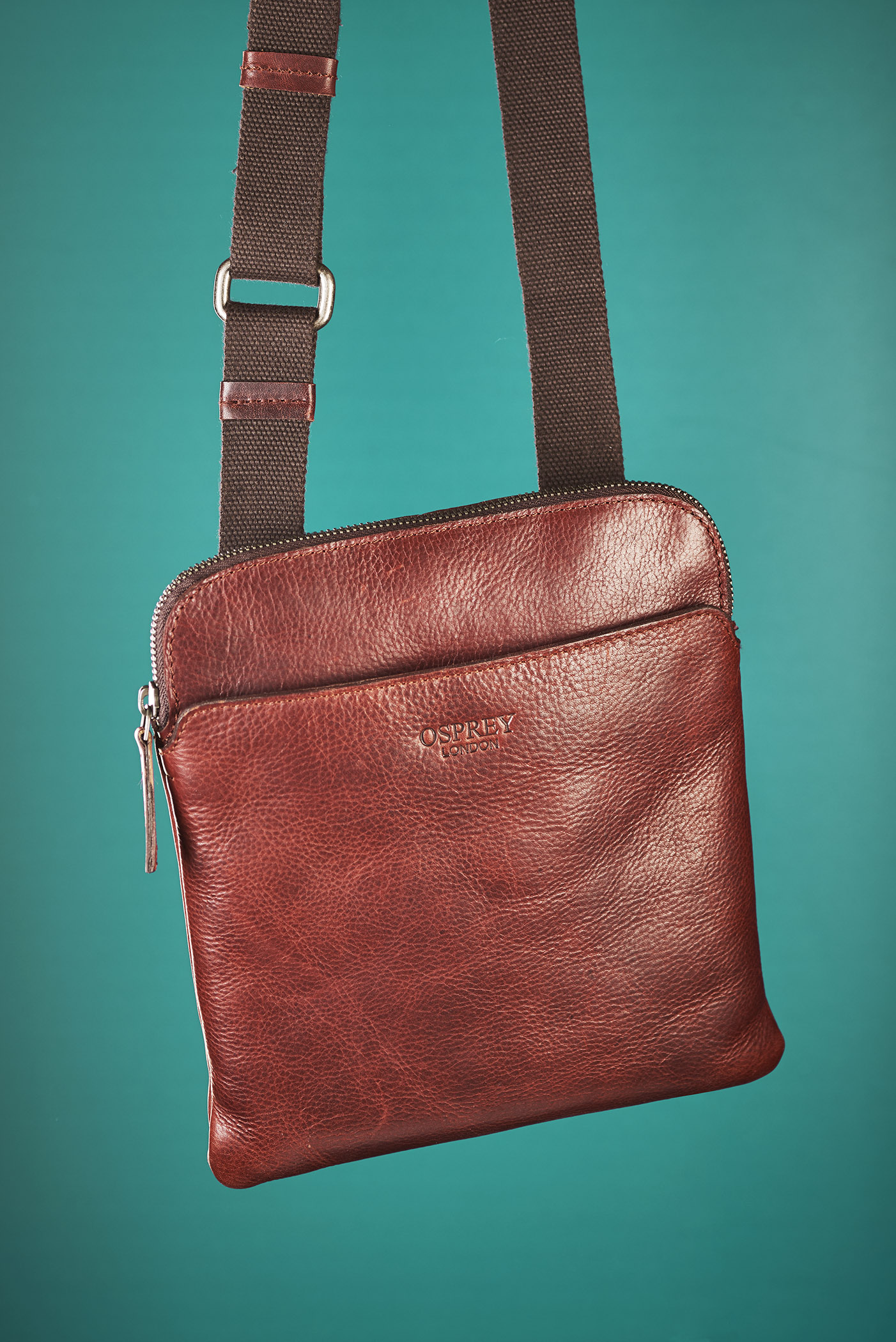 Mans Cross Body Leather Bag