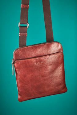 Mans Cross Body Leather Bag