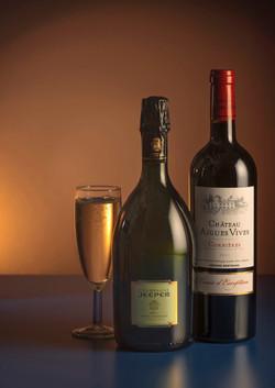 Style Shot of Wine