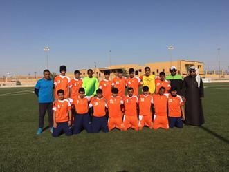 مشاركة طلاب  م+ث الملك فهد مع منتخب المنطقة