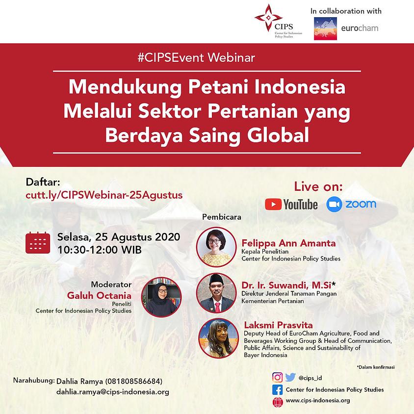 Mendukung Petani Indonesia Melalui Sektor Pertanian yang Berdaya Saing Global