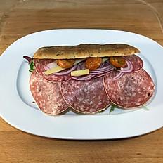 Flat heated - Salami