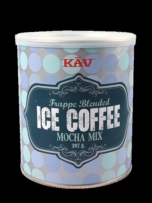 Frappe Blended Ice Coffee Mocha Mix  - 397g fra KAV America