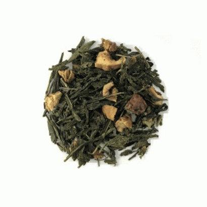 Grøn Kvæde med Æblestykker - Grøn aroma the 100g