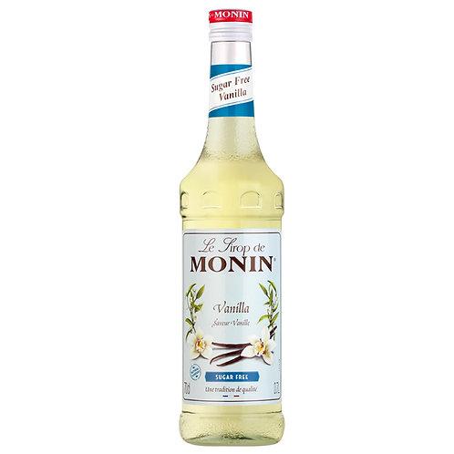 Vanilla Sugar Free Sirup - Monin 70cl