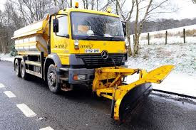 Snow gritters - take care...