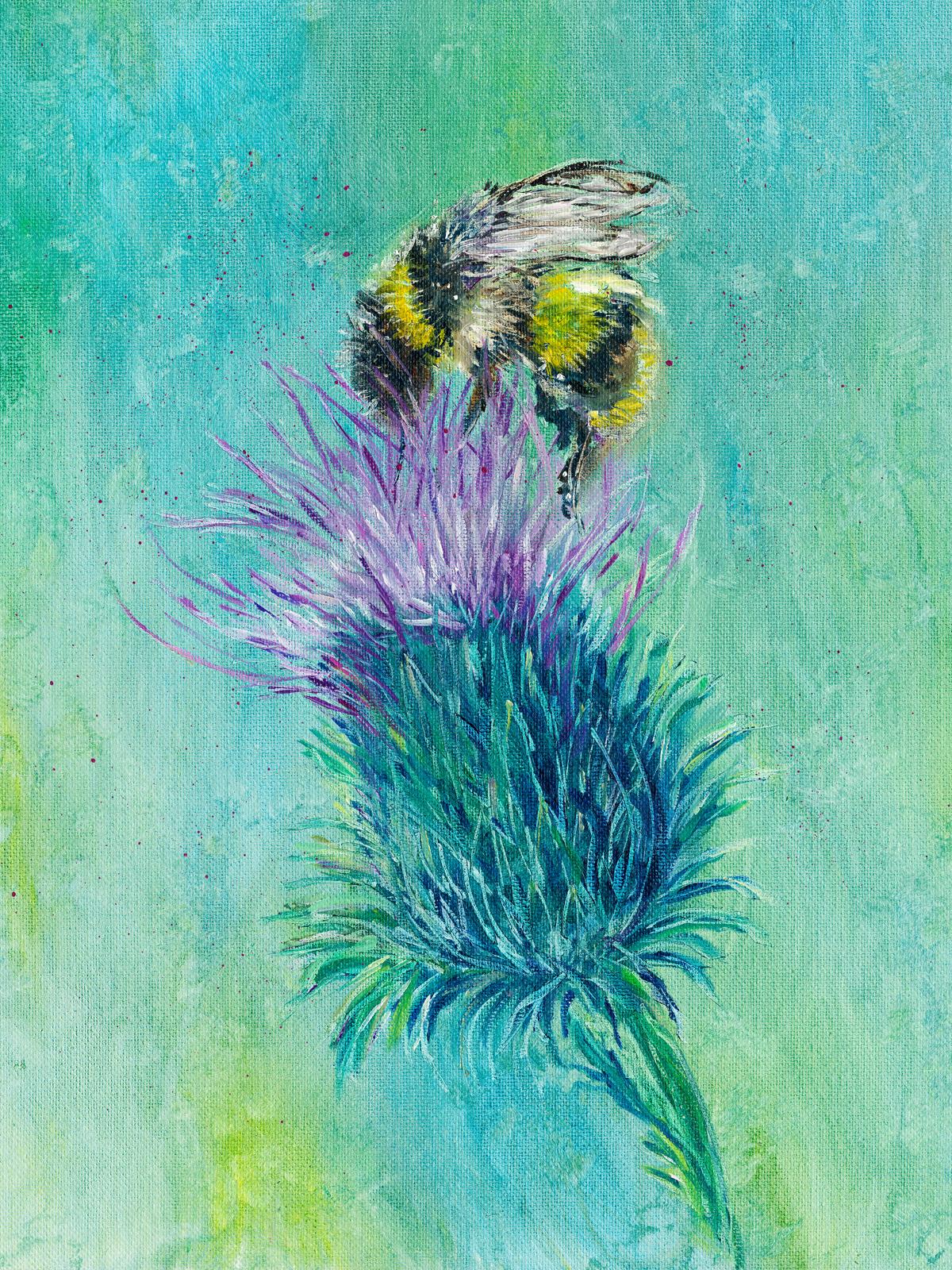 Thistle Bee....