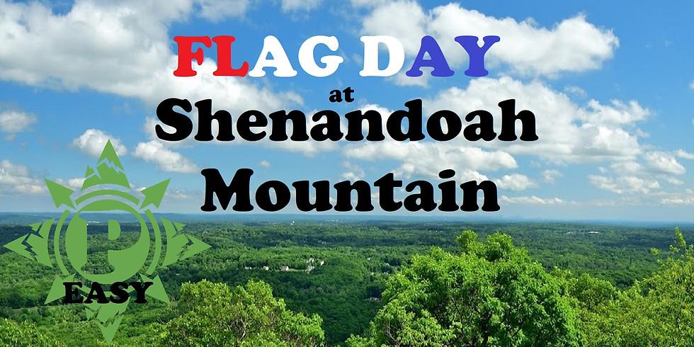 Flag Day at Shenandoah Mountain