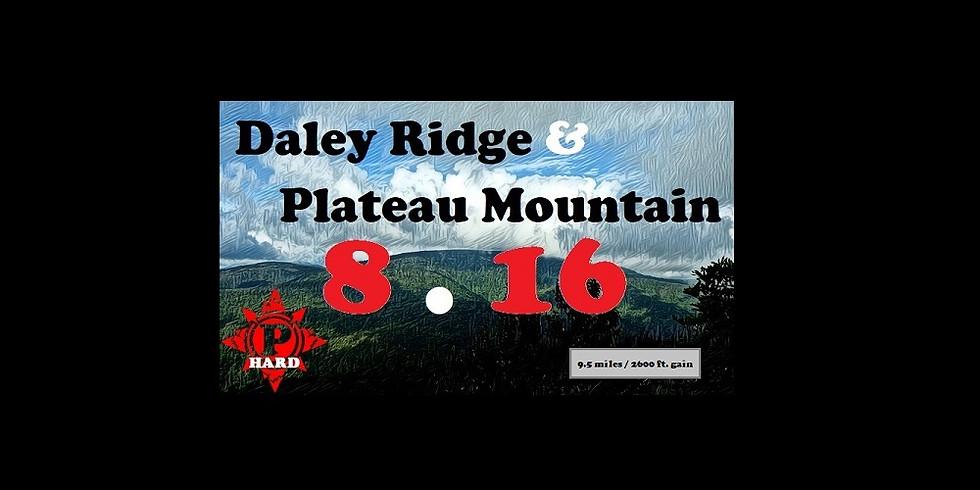Daley Ridge & Plateau Mountain