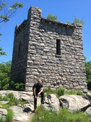 At Van Slyke Castle - Ramapo Mountain