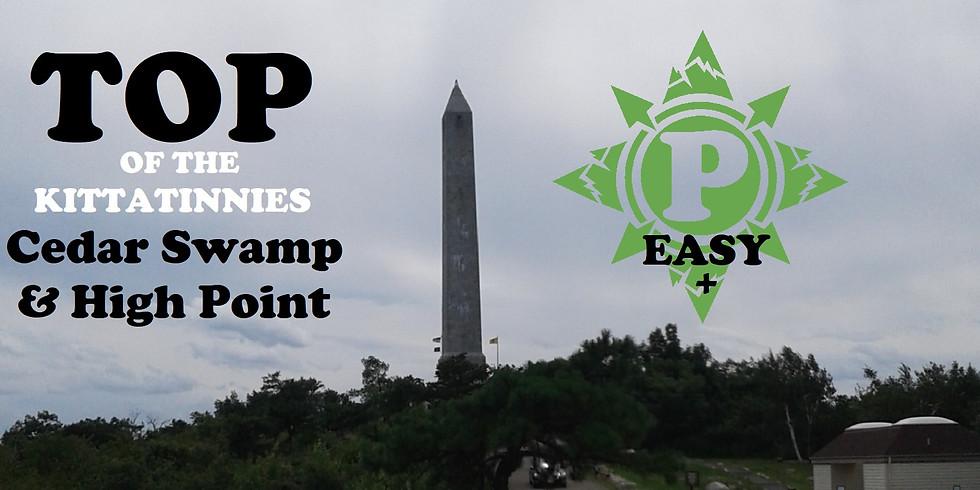 Top of the Kittatinnies: Cedar Swamp & High Point