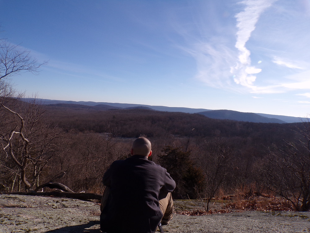 Overlook Rock - one of many great views.