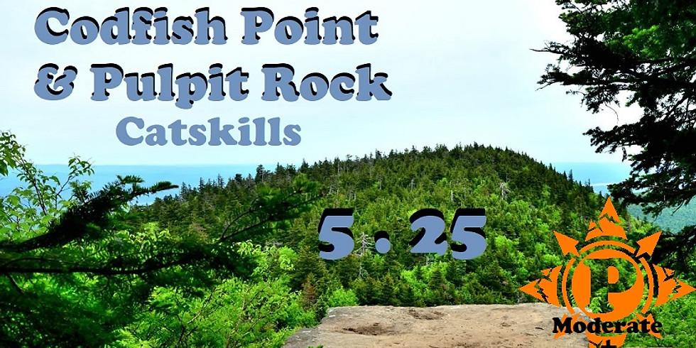 Catskills: Codfish Point & Pulpit Rock