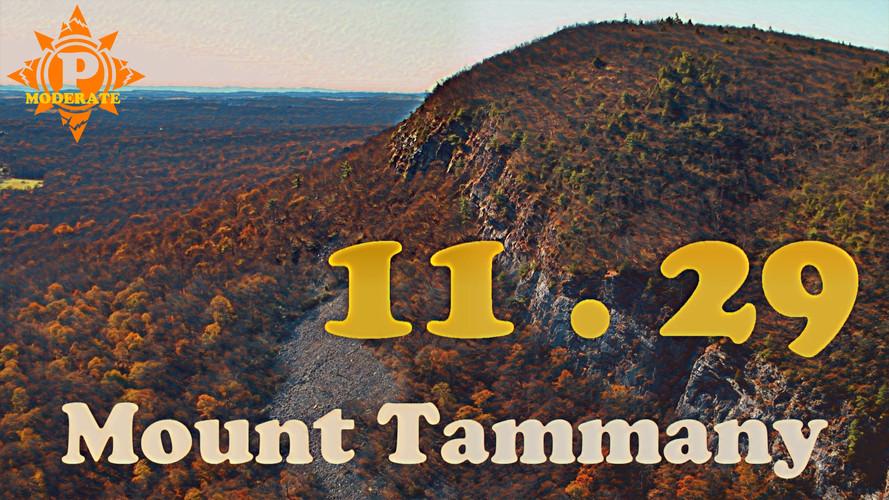 11.29 - Mount Tammany