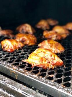 Chicken on Smoker