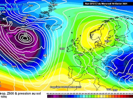 Η επόμενη βδομάδα στην Κύπρο θα είναι άκρως χειμωνιάτικη! Βροχές και χιόνια σε χαμηλά υψόμετρα