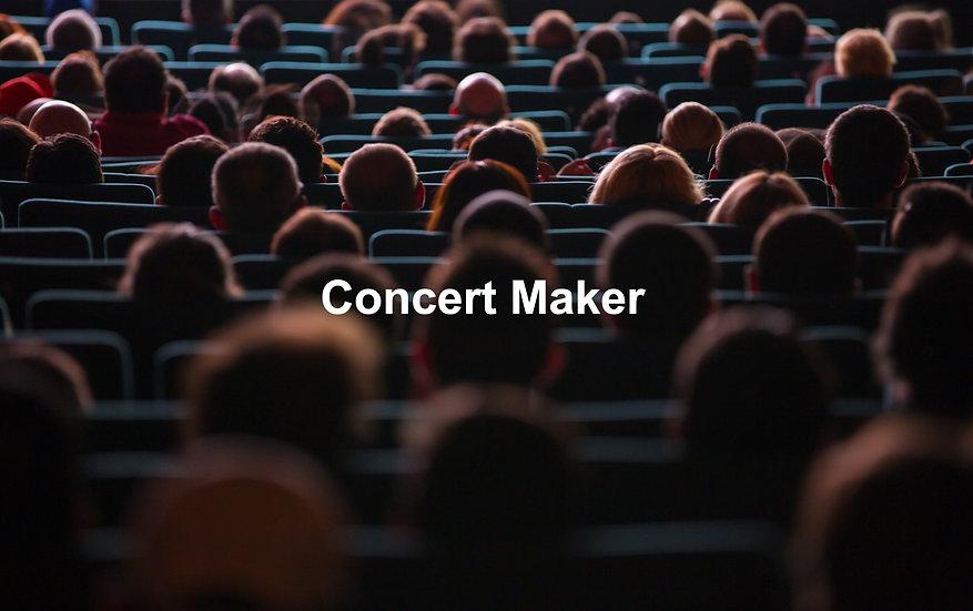 Concert Maker