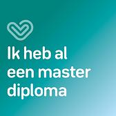 ik heb al een master diploma
