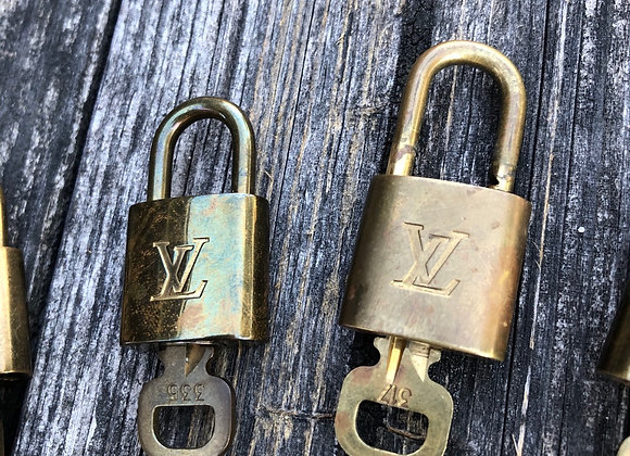$50 vintage lock Authentic preowned guaranteed (grade c vintage)