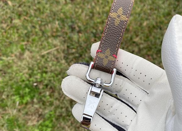 $65 Custom silver keychain